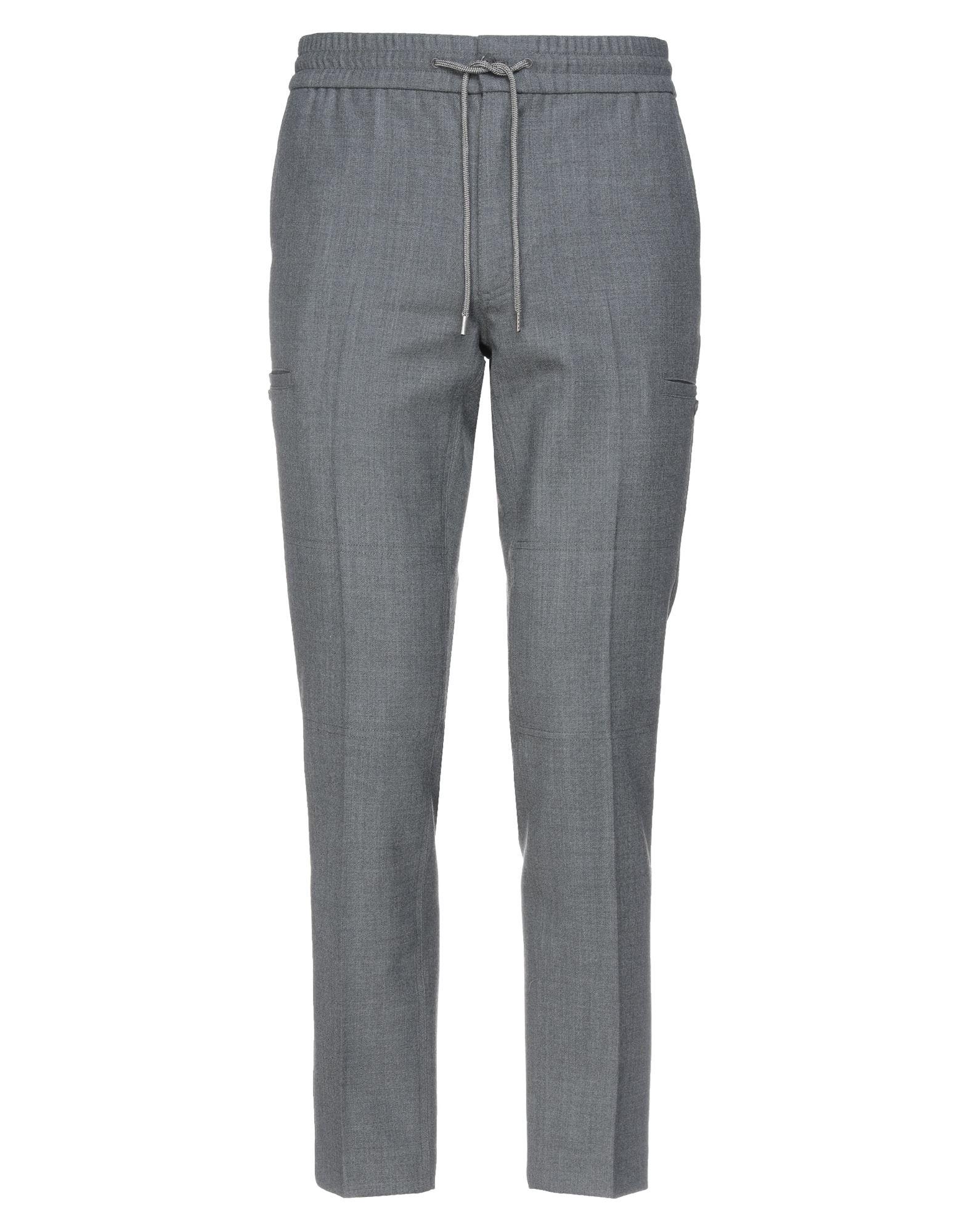 《セール開催中》WOOLRICH メンズ パンツ 鉛色 XS ポリエステル 53% / バージンウール 43% / ポリウレタン 4%
