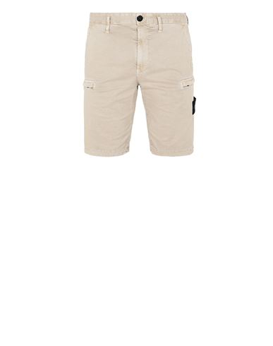 STONE ISLAND L0504 T.CO 'OLD' Bermuda Homme Sable EUR 219