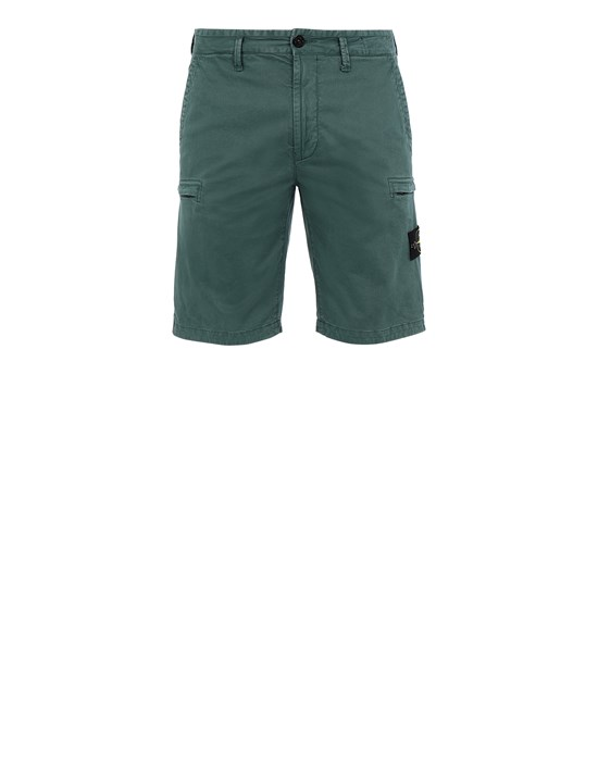 Bermuda shorts Man L0504 T.CO 'OLD' Front STONE ISLAND