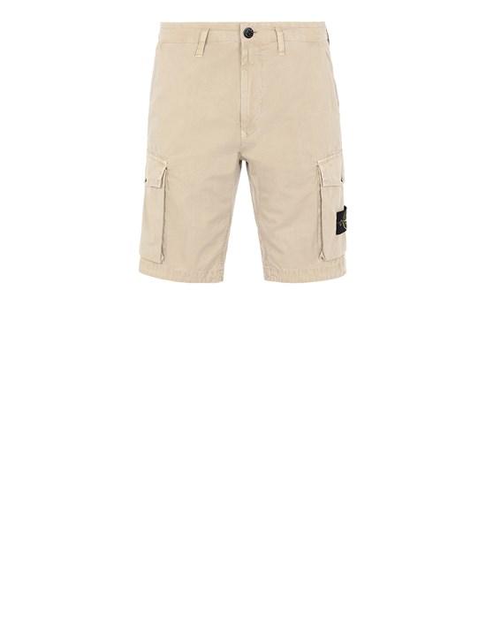 STONE ISLAND L07WA T.CO 'OLD' Bermuda shorts Man Sand