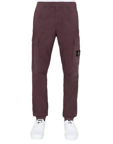 STONE ISLAND 31303 Trousers Man Dark Burgundy EUR 263