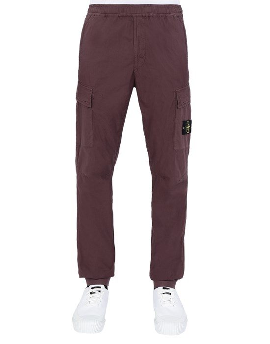 STONE ISLAND 31303 Trousers Man Dark Burgundy