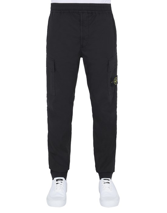 STONE ISLAND 31303 Trousers Man Black