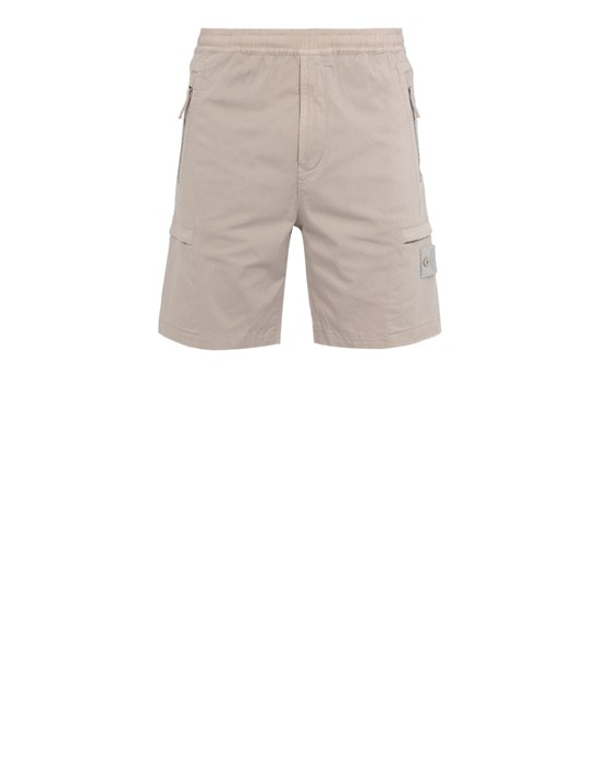 Sold out - STONE ISLAND L06F2 GHOST PIECE  Bermuda shorts Man Beige