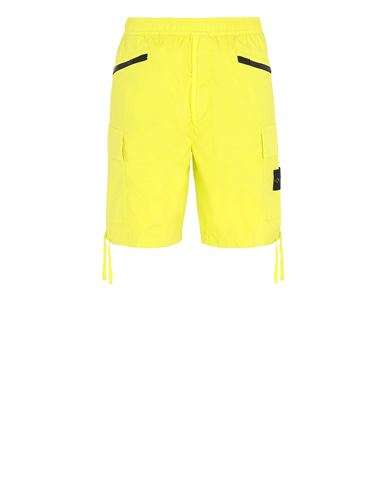 STONE ISLAND L0403 Bermuda shorts Man Pistachio Green EUR 219
