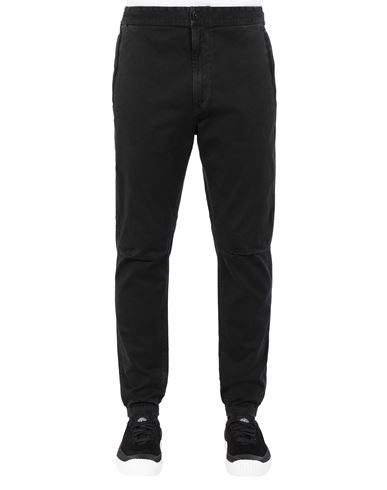 STONE ISLAND 309L1 T.CO+ 'OLD' Trousers Man Black EUR 255