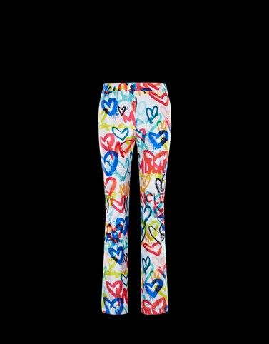 CASUAL TROUSER Multicolor Trousers Woman