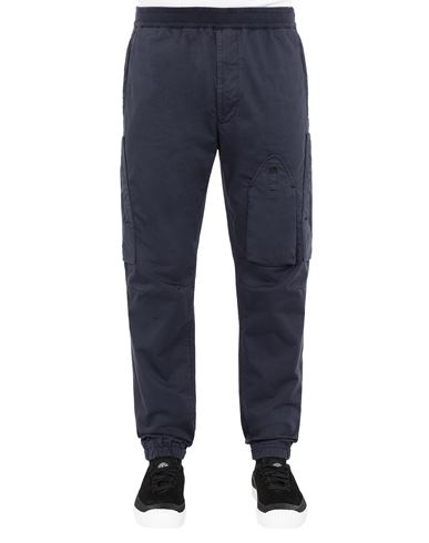 STONE ISLAND 31014 REGULAR PANTS Man Marine Blue USD 300