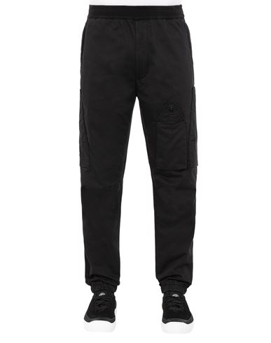 STONE ISLAND 31014 REGULAR TROUSERS Man Black EUR 235