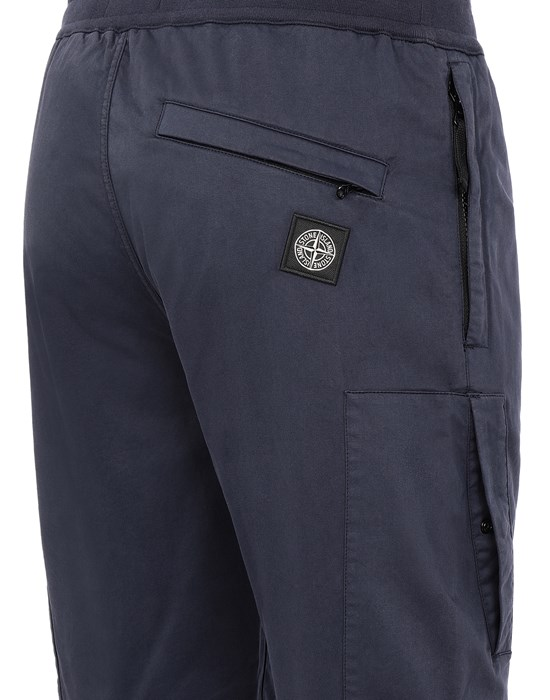 13523224bl - TROUSERS - 5 POCKETS STONE ISLAND