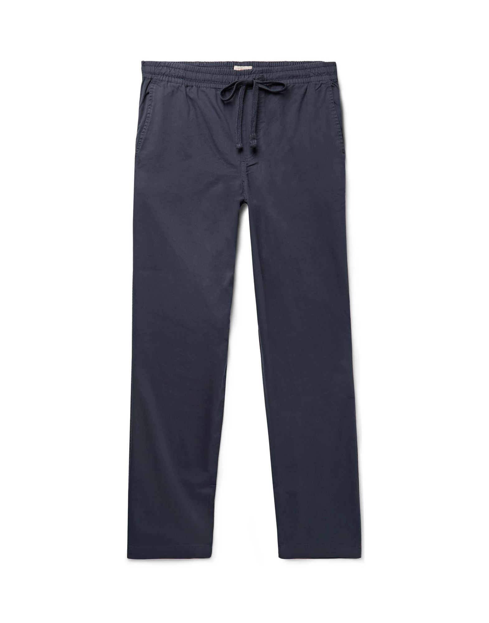 FAHERTY Casual pants. gabardine, basic solid color, no appliqués, mid rise, regular fit, tapered leg, drawstring closure, multipockets. 60% Cotton, 40% Lyocell