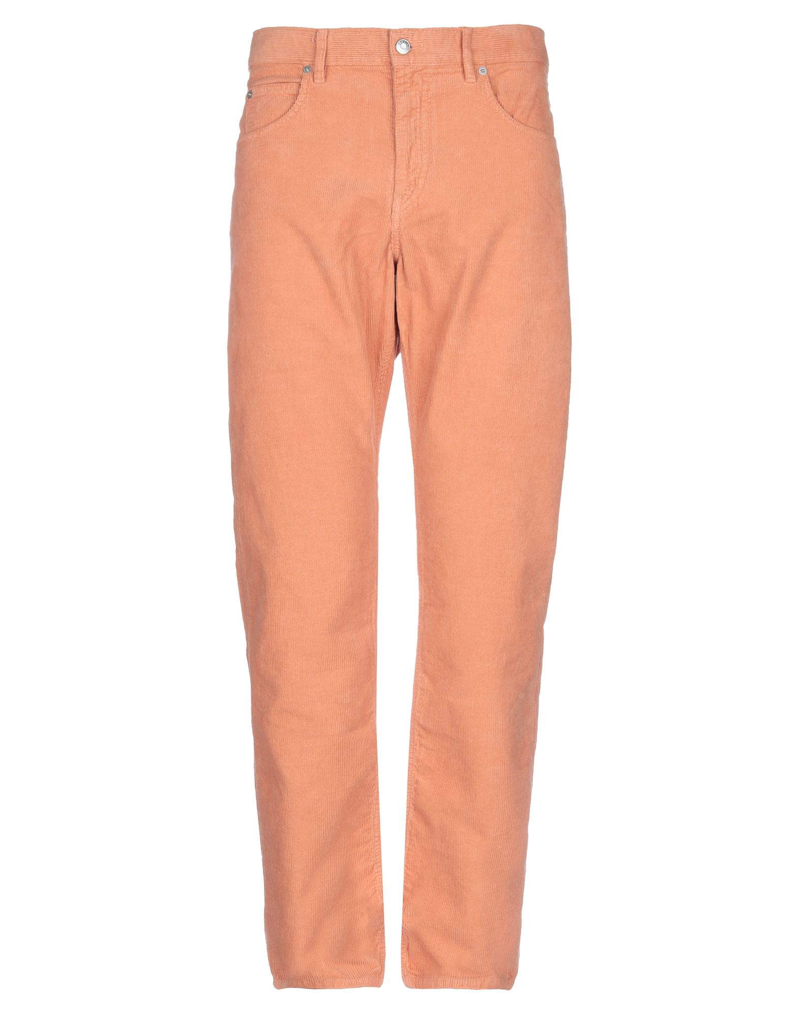 ISABEL MARANT Casual pants. velvet, ribbed, basic solid color, no appliqués, mid rise, regular fit, straight leg, button, zip, multipockets. 100% Cotton