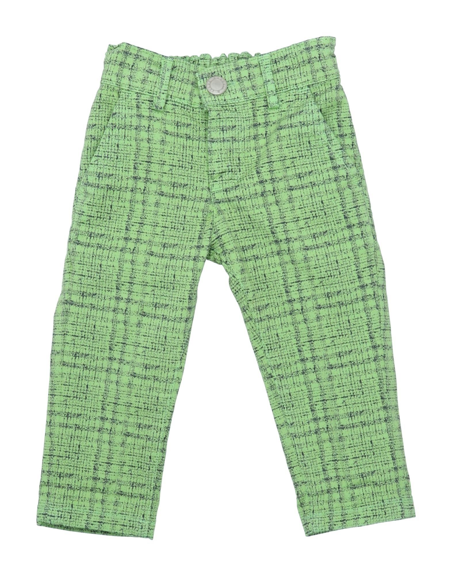 Manuell & Frank Kids' Casual Pants In Green