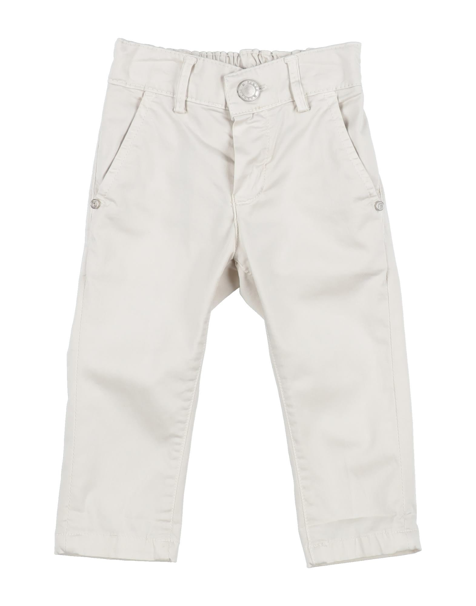 Manuell & Frank Kids' Casual Pants In White