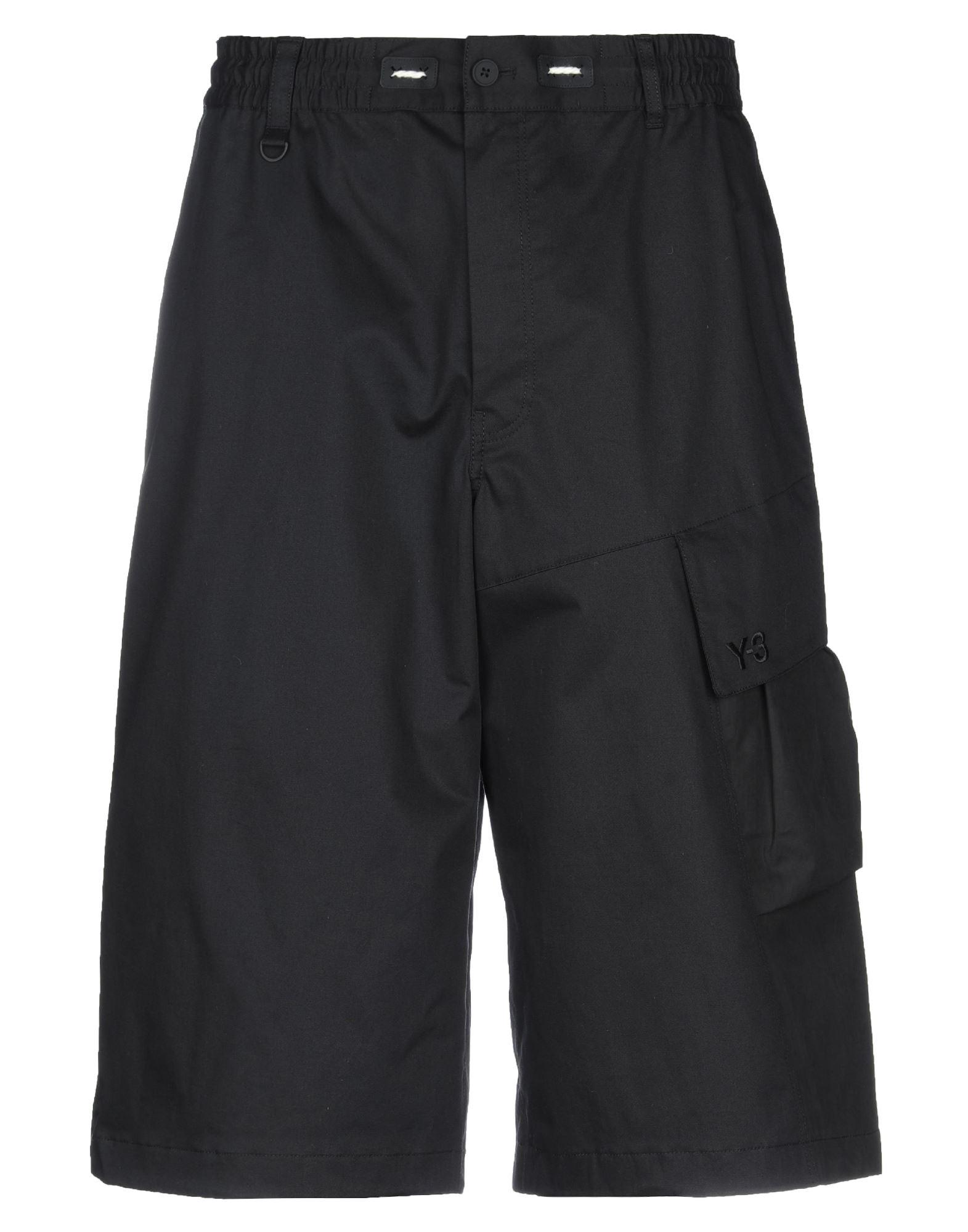 Y-3 Укороченные брюки фото