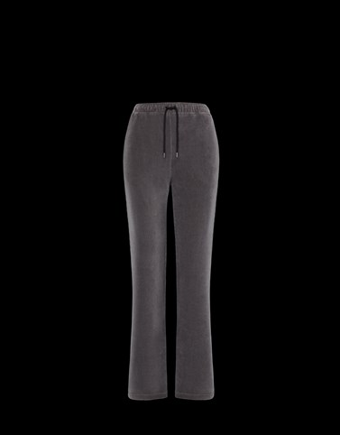 CASUAL TROUSER Dark grey Trousers Woman