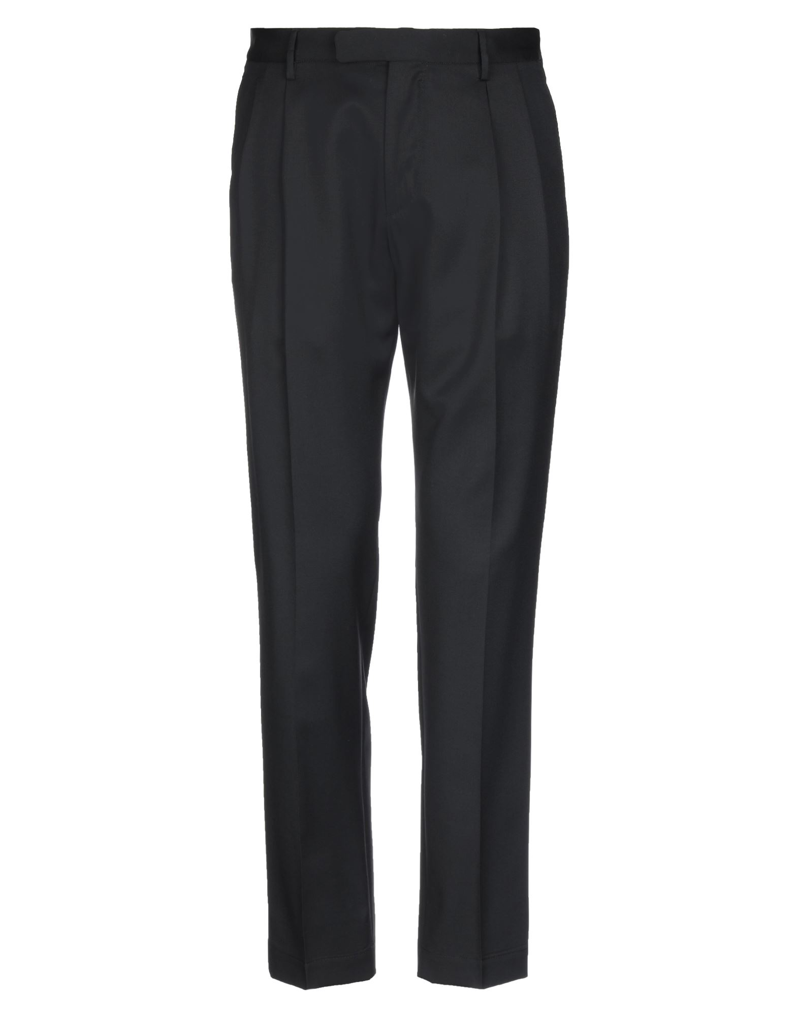 《セール開催中》CELLAR DOOR メンズ パンツ ブラック 46 バージンウール 100%