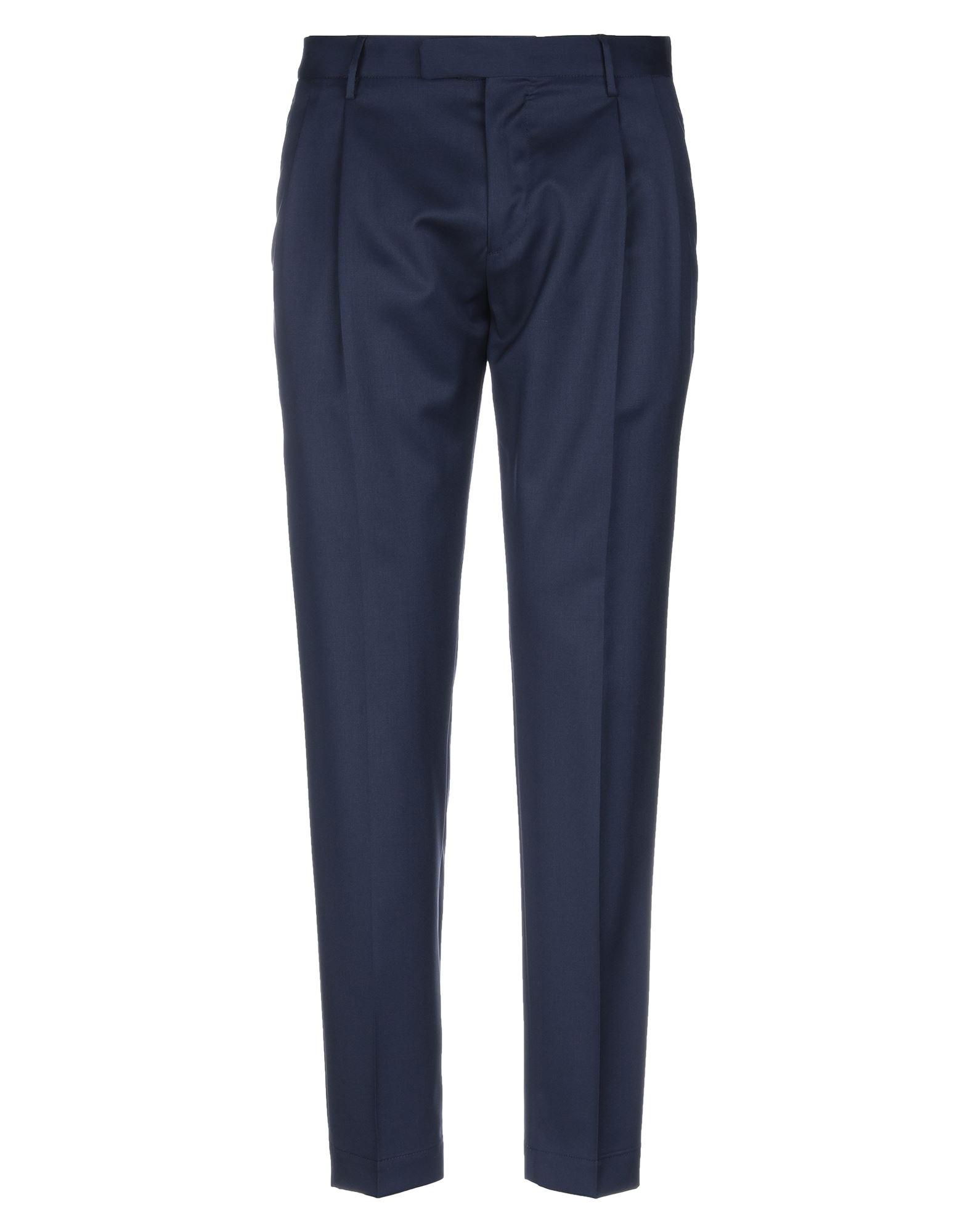 《セール開催中》CELLAR DOOR メンズ パンツ ダークブルー 46 バージンウール 100%