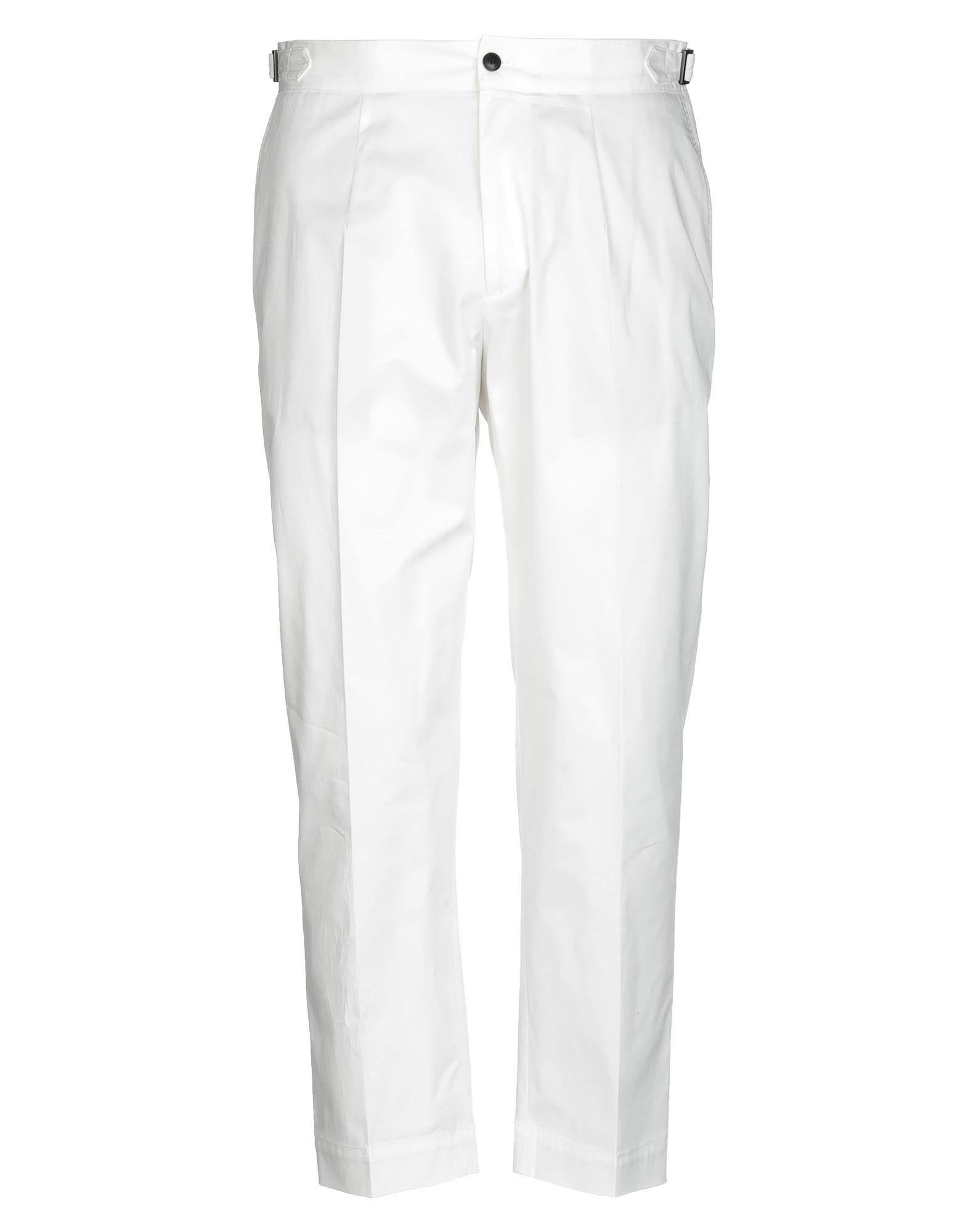 《セール開催中》CELLAR DOOR メンズ パンツ ホワイト 48 コットン 95% / ポリウレタン 5%