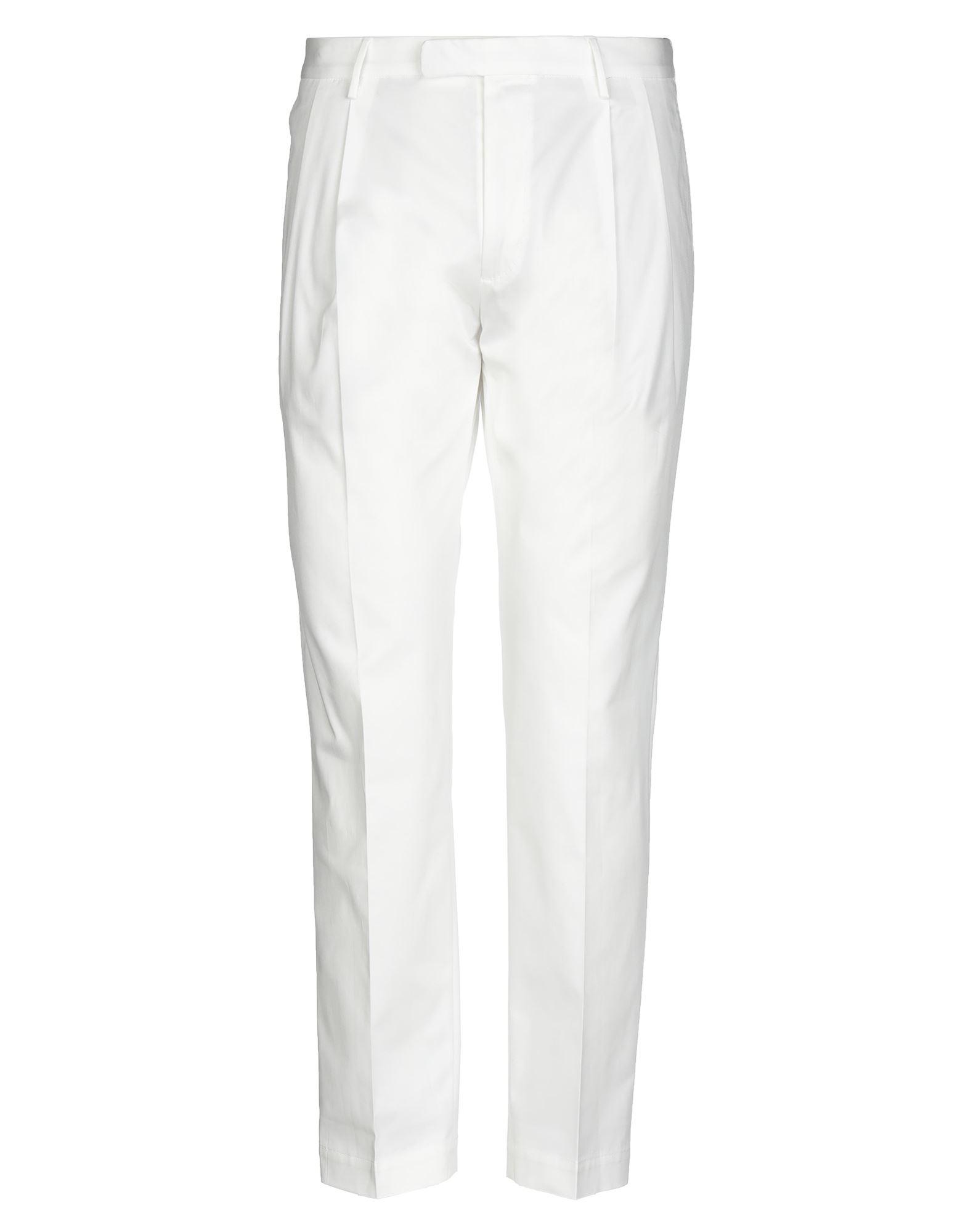 《セール開催中》CELLAR DOOR メンズ パンツ ホワイト 50 コットン 95% / ポリウレタン 5%