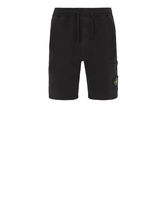 Sold out - STONE ISLAND 64620 Bermuda Man Black