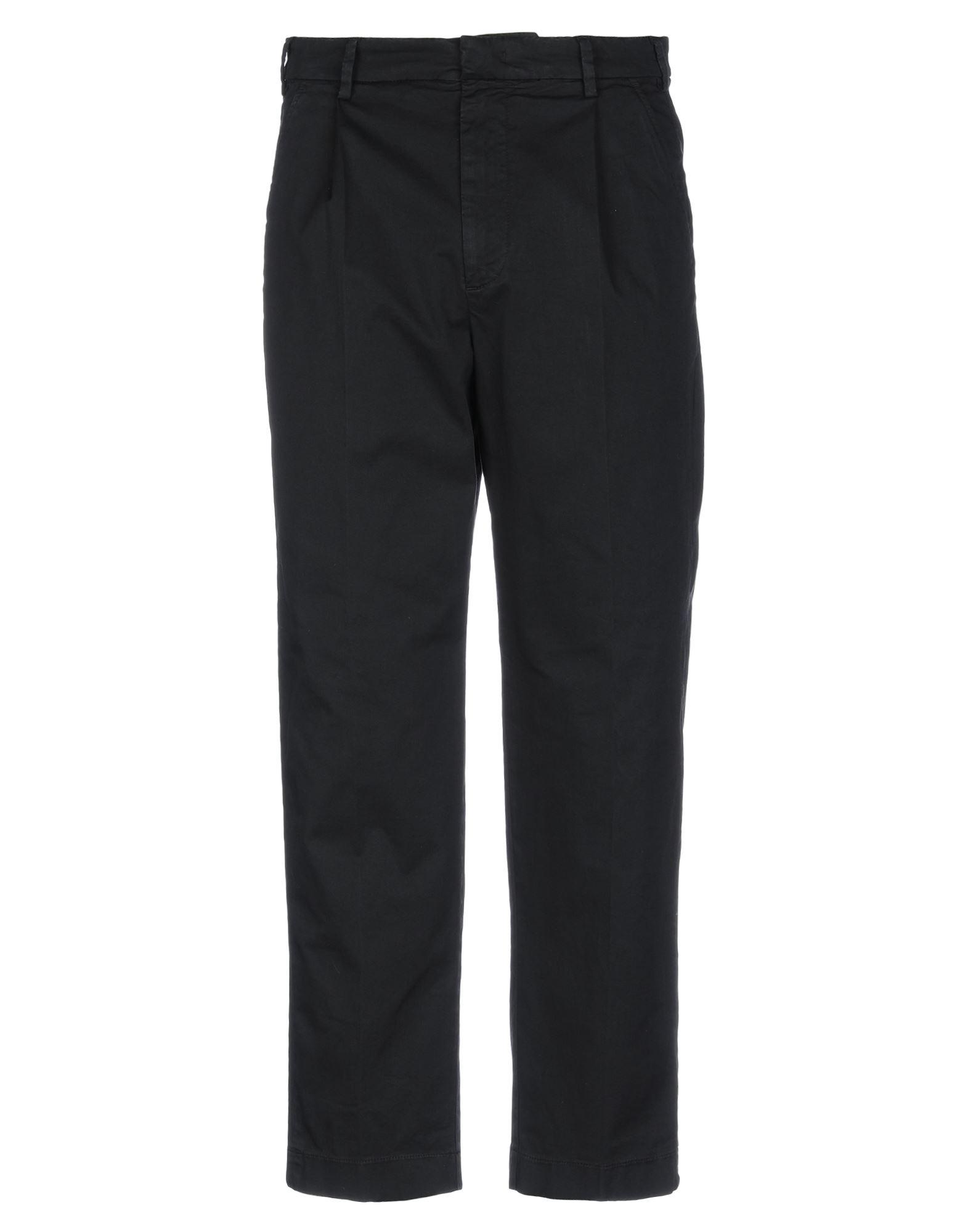 《セール開催中》BARENA メンズ パンツ ブラック 48 コットン 100%