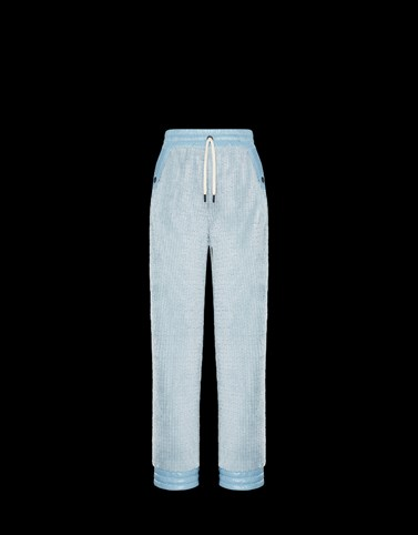 CASUAL TROUSER Pastel blue New in Woman