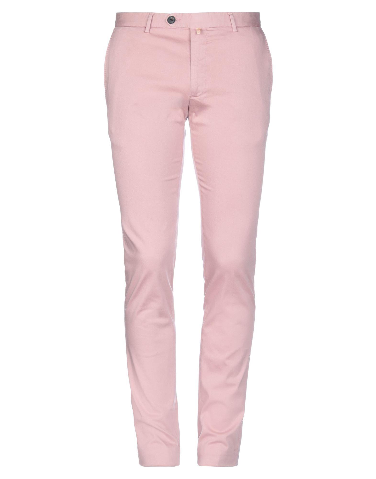 《セール開催中》ALVIERO MARTINI 1a CLASSE メンズ パンツ ピンク 48 コットン 97% / ポリウレタン 3%