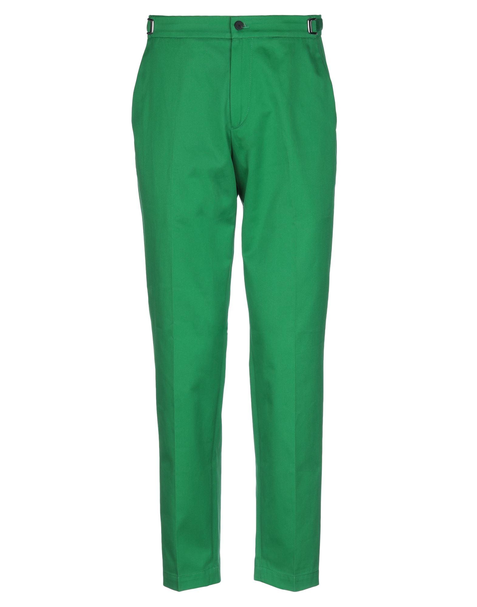 《セール開催中》CELLAR DOOR メンズ パンツ エメラルドグリーン 46 コットン 100%