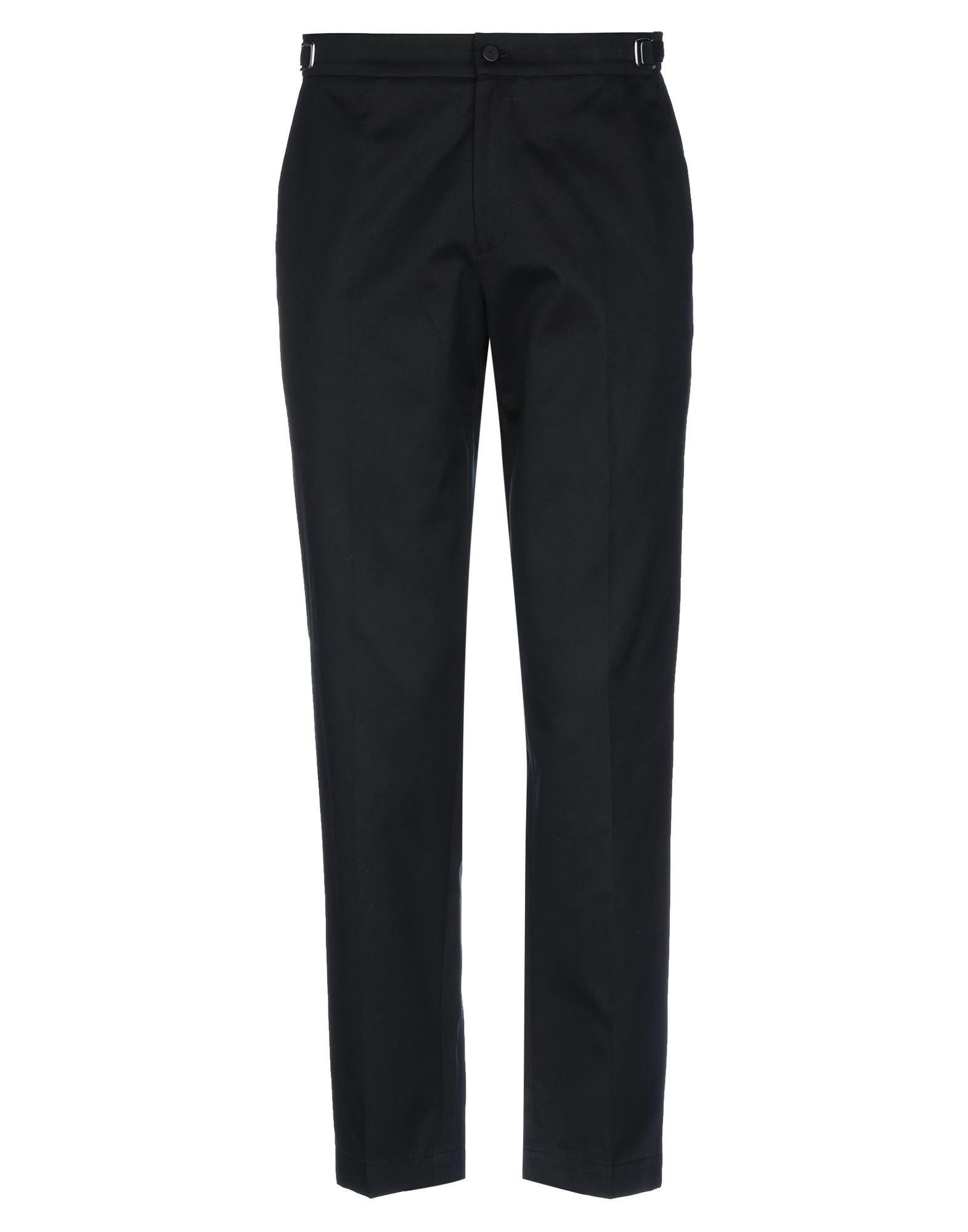《セール開催中》CELLAR DOOR メンズ パンツ ブラック 48 コットン 100%