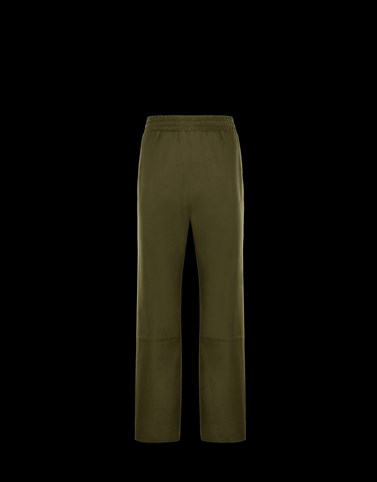 ATHLETIC TROUSERS Military green Trousers Man