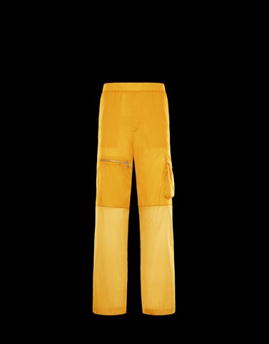 ATHLETIC TROUSERS Yellow 2 Moncler 1952 Man
