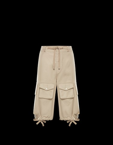 BERMUDA TROUSERS Ivory Trousers Man