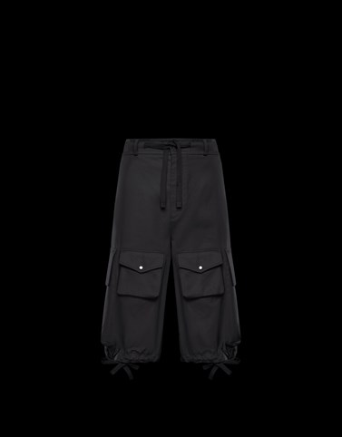 BERMUDA TROUSERS Black 2 Moncler 1952 Man