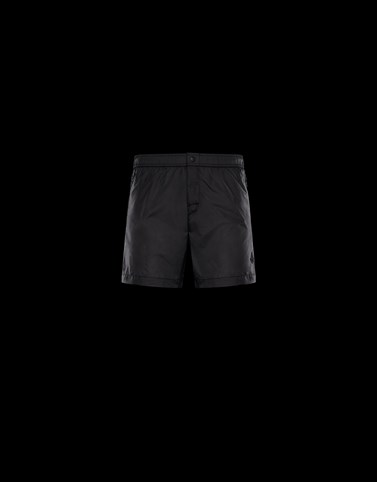 SWIM TRUNKS Black Trousers Man
