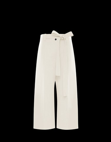 CASUAL TROUSER Cream New in Woman