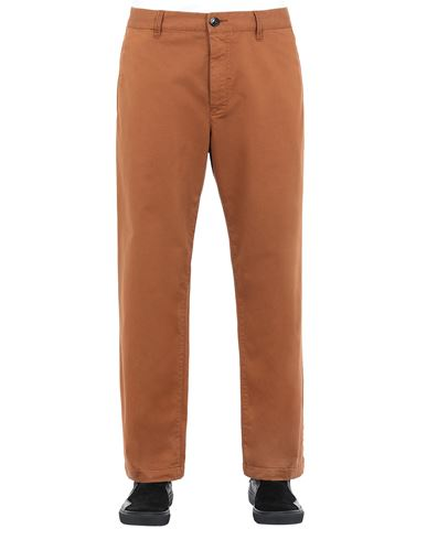 STONE ISLAND SHADOW PROJECT 30108 STRAIGHT TROUSERS TROUSERS Man Chestnut Brown EUR 359