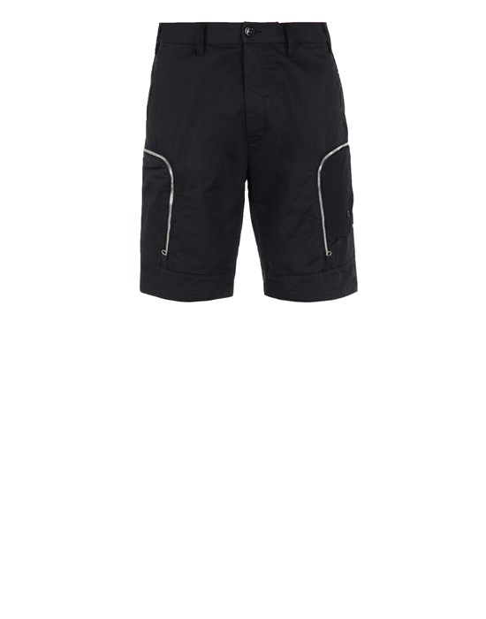 STONE ISLAND SHADOW PROJECT L0208 CARGO SHORTS SHADOW PROJECT BERMUDA SHORTS Man Black