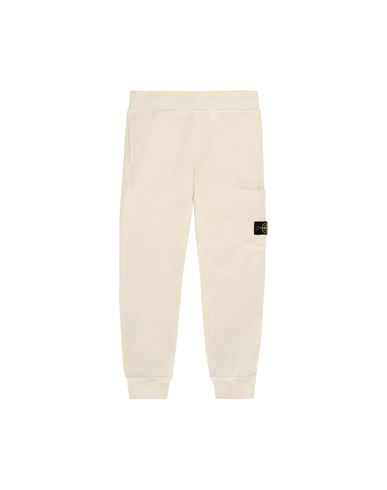 STONE ISLAND JUNIOR 61540 Fleece Trousers Man Beige EUR 151