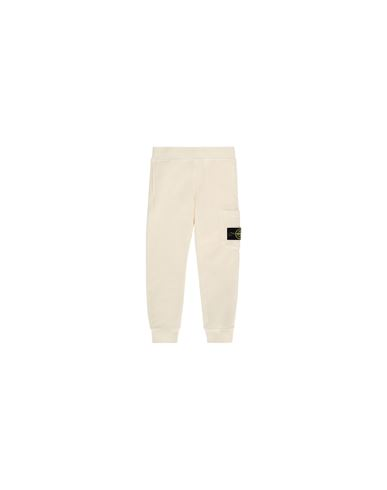 STONE ISLAND BABY 61540 Fleece Trousers Man Beige EUR 127