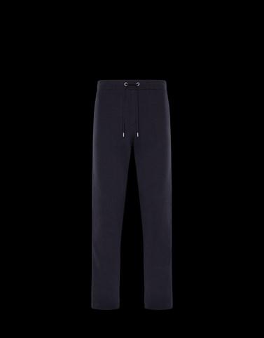 CASUAL TROUSER Dark blue Trousers Man
