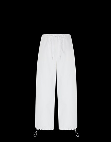 ATHLETIC TROUSERS White Trousers Man