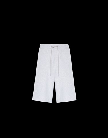 SHORTS Light grey Category JERSEY PANTS Man