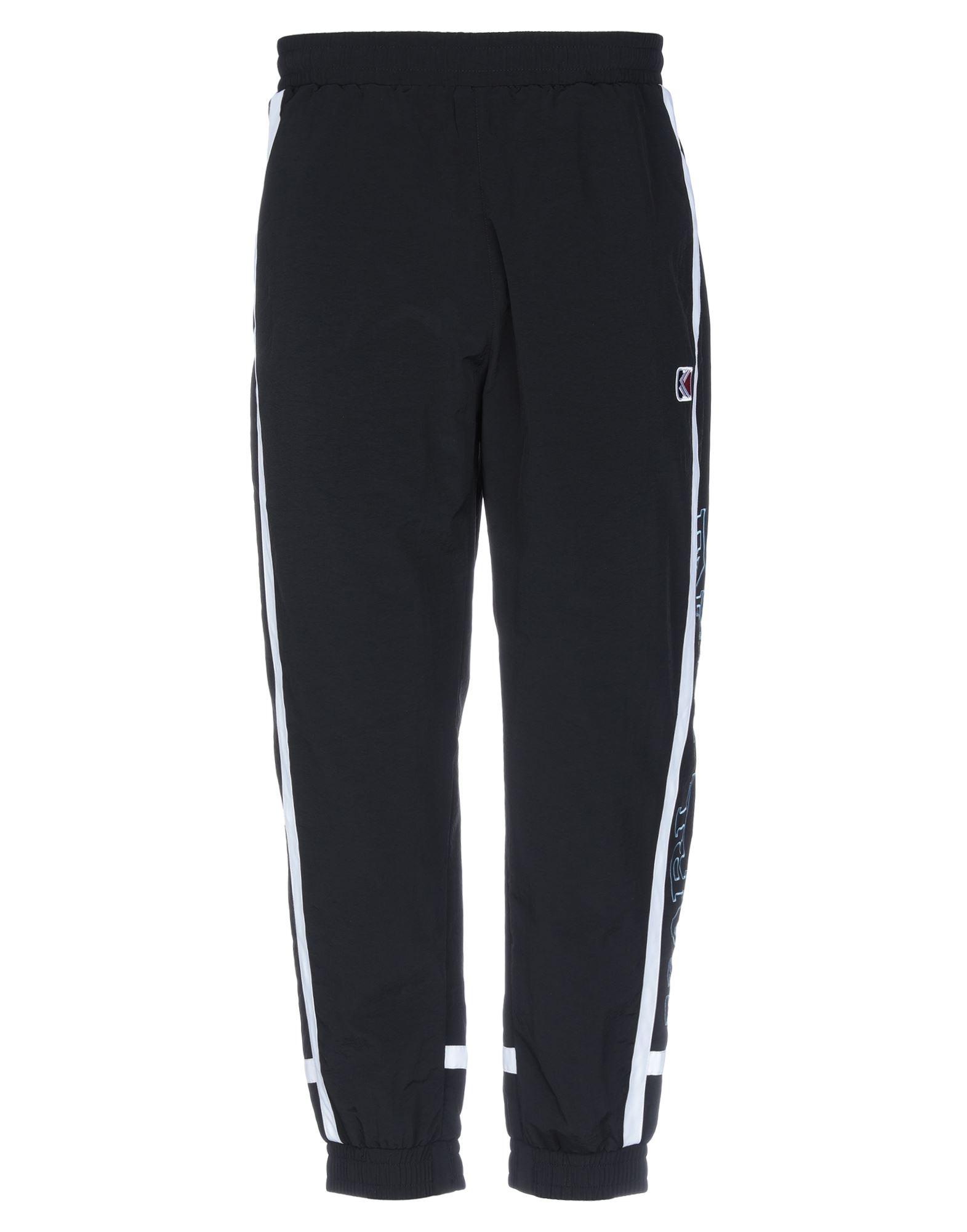 《セール開催中》KARL KANI メンズ パンツ ブラック S ナイロン 100%