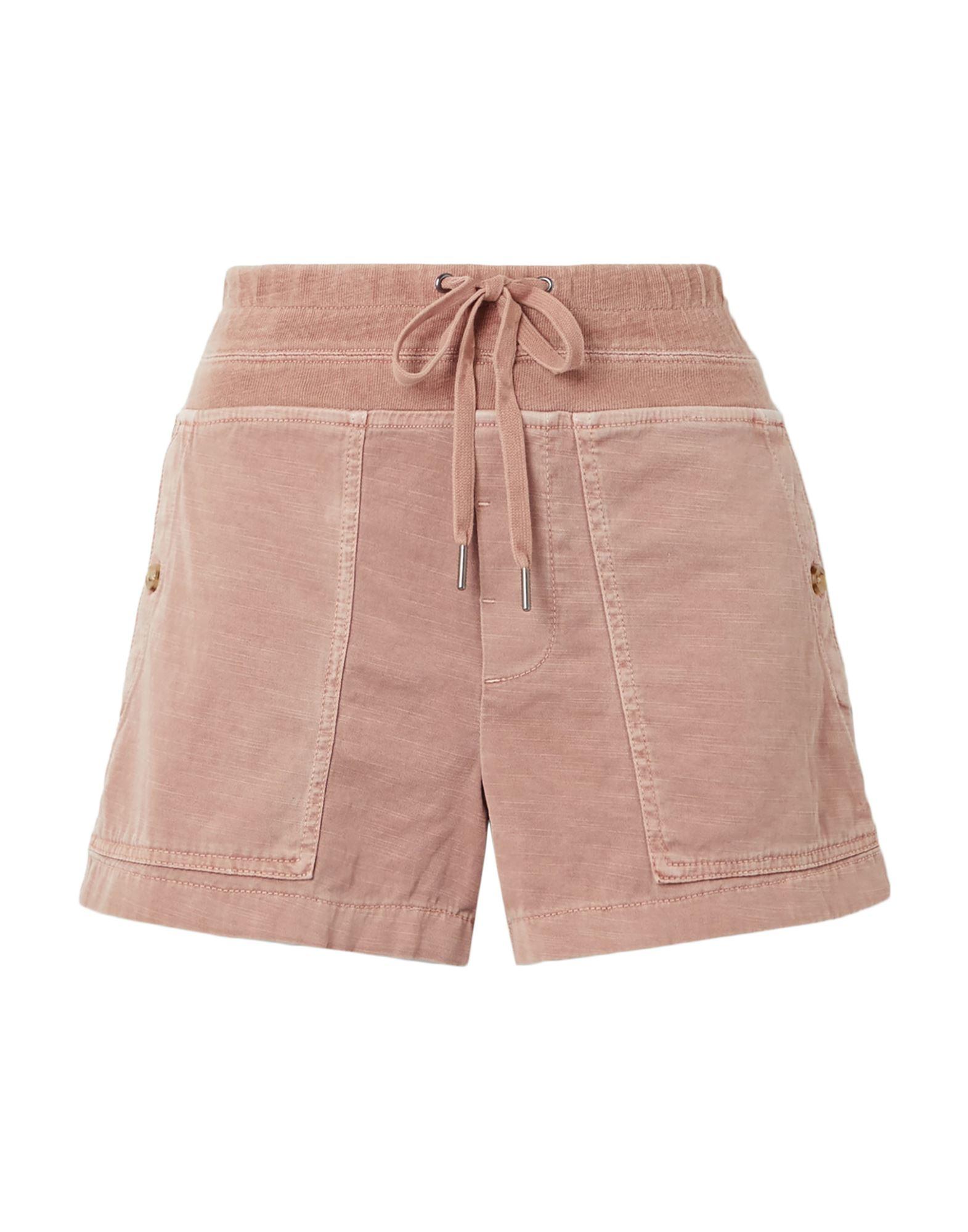 JAMES PERSE Шорты и бермуды james perse standard юбка длиной 3 4