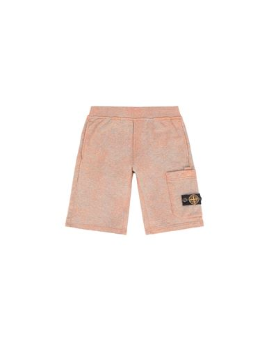 STONE ISLAND JUNIOR Bermuda molletonné Homme 61244 DUST COLOUR TREATMENT f