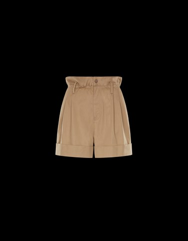 CASUAL TROUSER Camel Category Shorts Woman