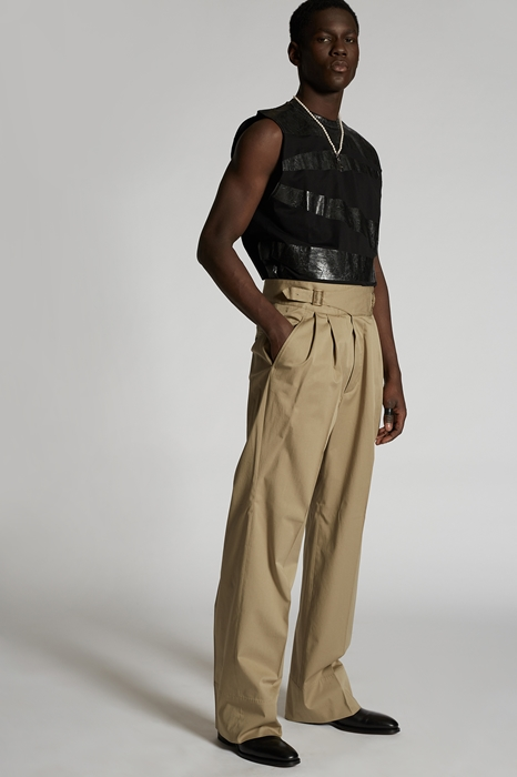 Pantalon Taille 42 97% Coton 3% Élasthanne - Dsquared2 - Modalova