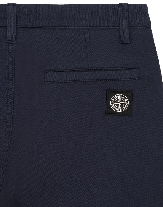 13551488bg - TROUSERS - 5 POCKETS STONE ISLAND JUNIOR