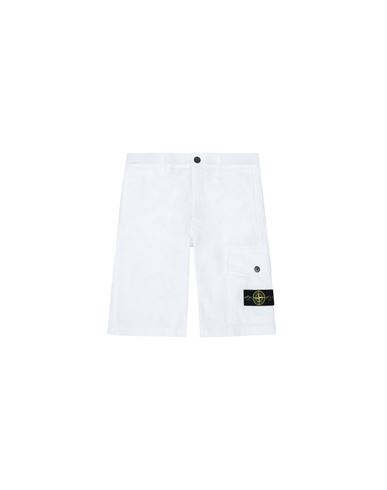 STONE ISLAND JUNIOR Bermuda shorts Man L0412 f